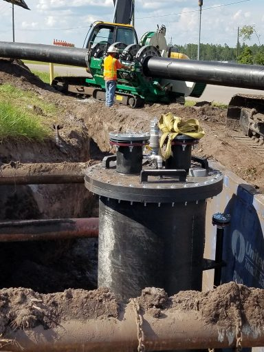 Landfill Gas System Pipe Repair
